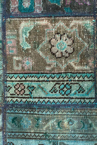 Persian Handnotted Patchwork - IR1394