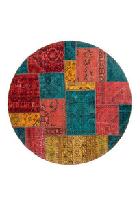 Persian Handnotted Patchwork - 202X202CM
