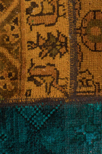 Persian Handnotted Patchwork - 201X201CM