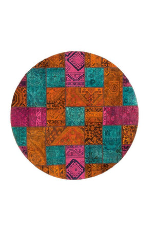 Persian Handnotted Patchwork - 200X200CM