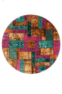 Persian Handnotted Patchwork - 239X239CM