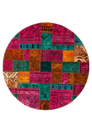 Persian Handnotted Patchwork - 233X233CM