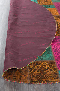 Persian Handnotted Patchwork - 238X238CM