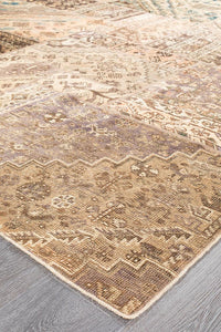 Persian Handnotted Patchwork - 288X195CM