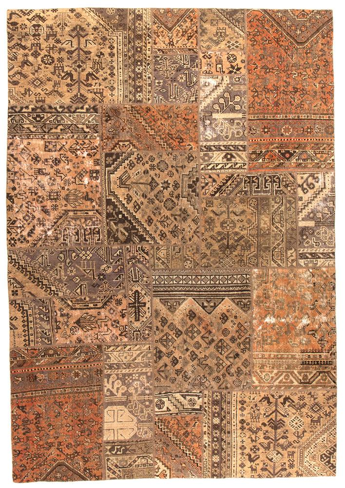 Persian Handnotted Patchwork - 290X198CM