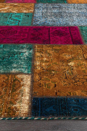 Persian Handnotted Patchwork - 290X200CM