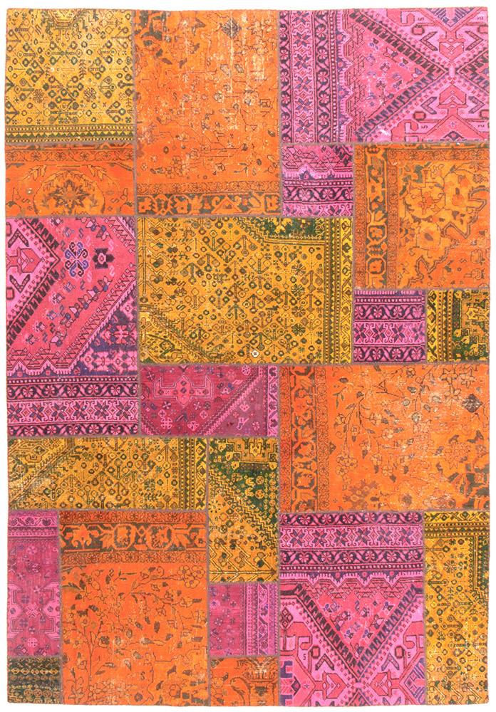 Persian Handnotted Patchwork - 285X199CM