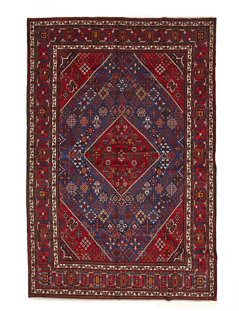 HAND KNOTTED PERSIAN  RUG 368X241 CM