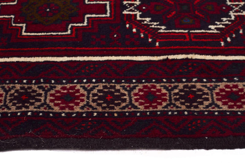 HAND KNOTTED PERSIAN FINE BALUCH RUG 193X105 CM