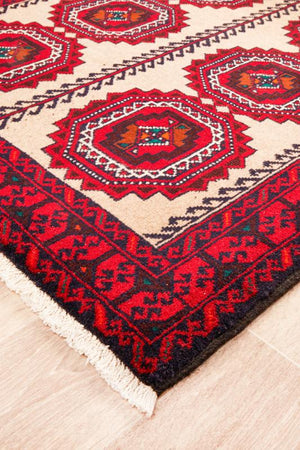 Hand Knotted Fine Quality Balouchi Rug