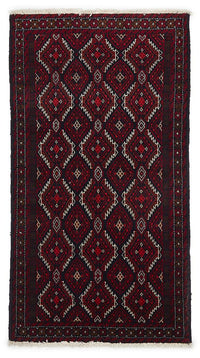 HAND KNOTTED PERSIAN FINE BALUCH RUG 192X105 CM