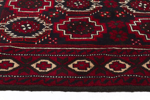 HAND KNOTTED PERSIAN FINE BALUCH RUG 185X105 CM