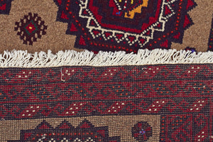 HAND KNOTTED PERSIAN FINE BALUCH RUG 170X95 CM