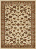 Istanbul Traditional Floral Pattern Rug Ivory - aladdinrugs - 1