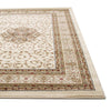 Istanbul Medallion Classic Pattern Rug Ivory - aladdinrugs - 2