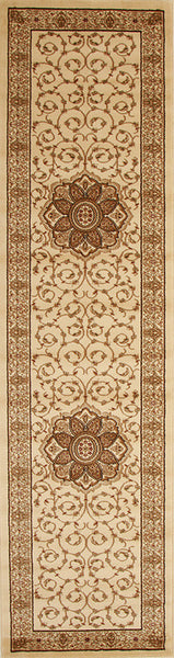 Istanbul Medallion Classic Pattern Rug Ivory - aladdinrugs - 4