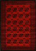 Istanbul Classic Afghan Pattern Rug Red - aladdinrugs - 1
