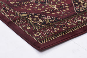 Istanbul Traditional Shiraz Design Rug Burgundy Red - aladdinrugs - 2