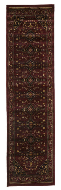 Istanbul Traditional Shiraz Design Rug Burgundy Red - aladdinrugs - 4