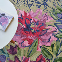 Ines jardin rugs 19904 by bluebellgray