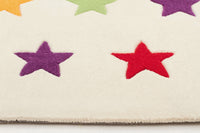 Twinkle Twinkle Star Rug White - aladdinrugs - 4