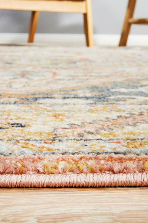 Artin Power Loomed Salmon Rug