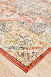 Artin Power Loomed Terracotta Rug