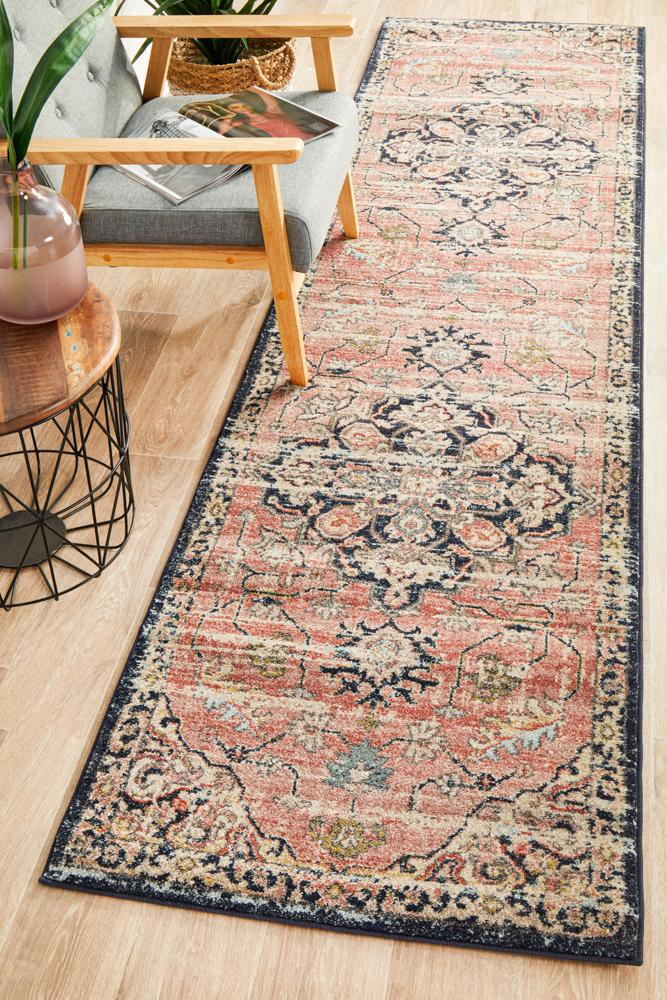 Artin Power Loomed Brick Runner Rug