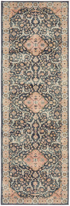 Artin Power Loomed Midnight Rug