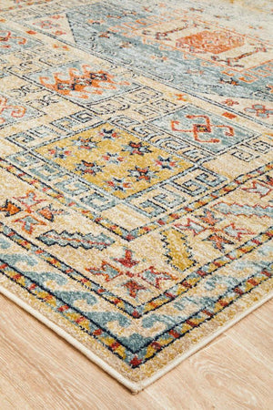 Artin Power Loomed Sky Blue Rug