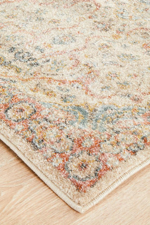 Artin Power Loomed Papyrus Runner Rug