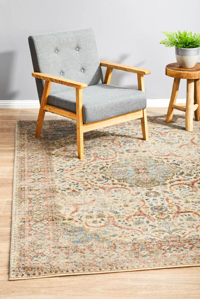 Artin Power Loomed Papyrus Rug