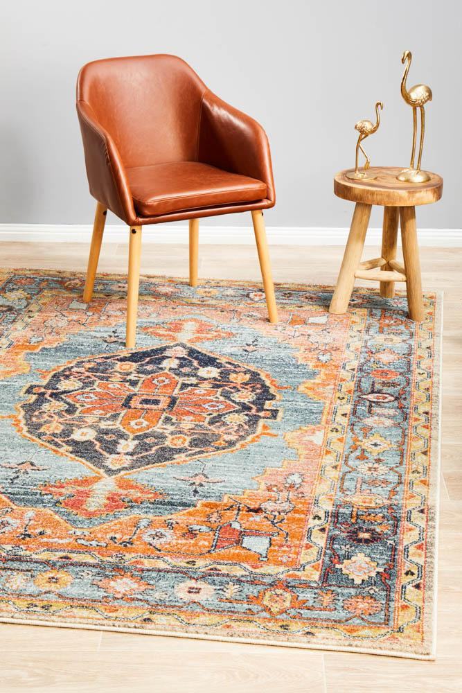 Artin Power Loomed Rust 34 Rug