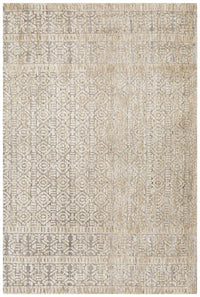 Luna  Hannah Natural Grey Rug