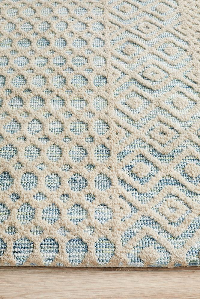 Levi Brook Blue Green Rug