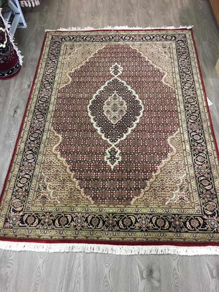 HAND KNOTTED PERSAN DESIGN RUG 214X151 CM