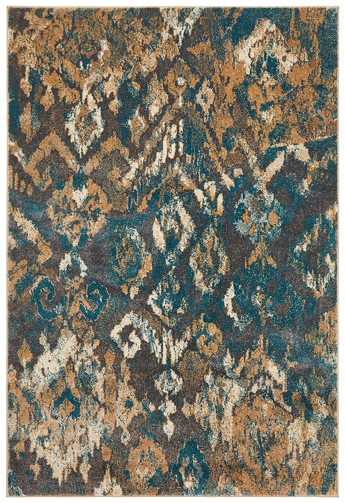 Julia Urban Stunning Rug Blue Grey