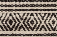Amaya Diamonds Jute and Cotton Charcoal Rug