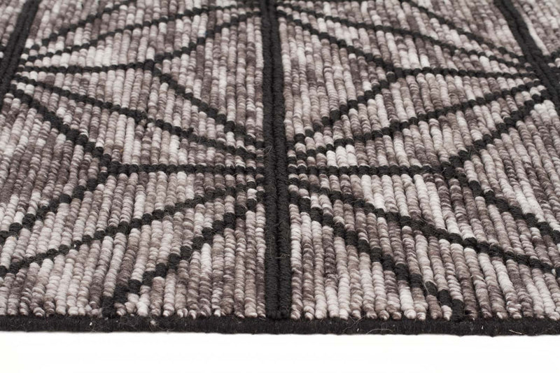 Amaya Star-struck Charcoal Hand Loomed Rug