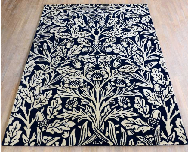 Morris & Co Oak Indigo 27908