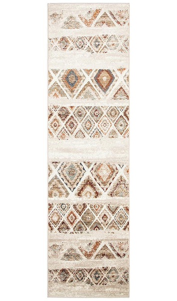 Mayfair Contrast Rust Rug Runner