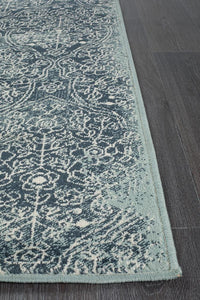Asmita Edge Denim Rug