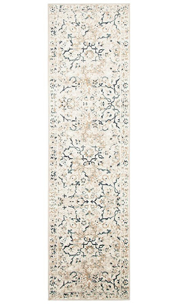 Mayfair Stem Bone Rug Runner