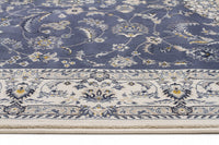 Palace Manal Oriental Runner Rug Blue White
