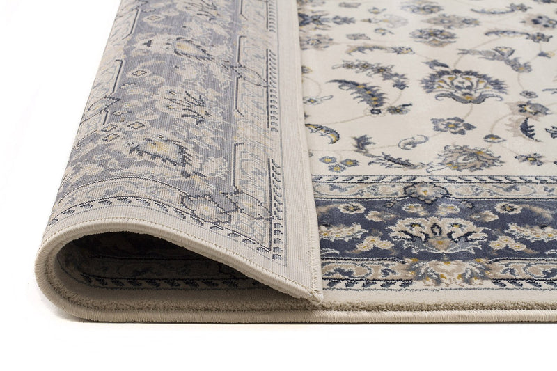 Palace Manal Oriental Rug White Blue