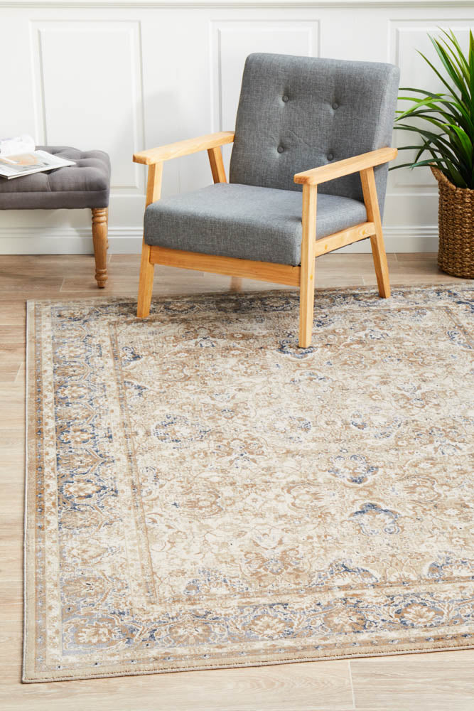 Avantika Ballad Traditional Cream Rug