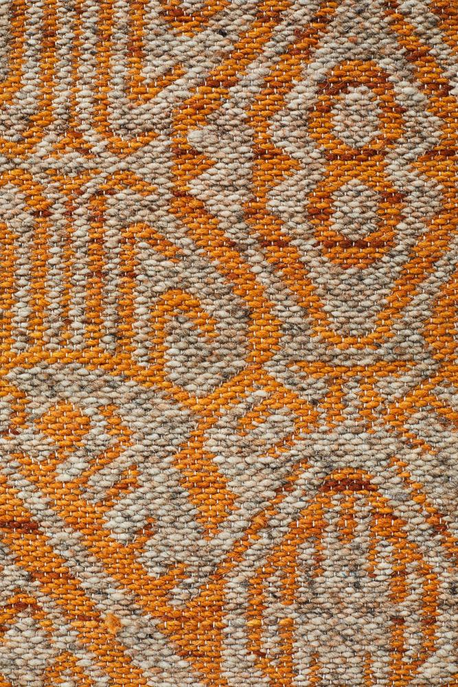 Relic Reuben Rust Natural Rug
