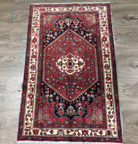 PERSIAN HAND KNOTTED NAHAVAND RUG 216 X138 CM