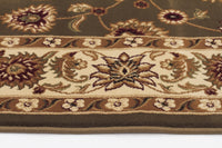 Sydney Classic Rug Green with Ivory Border - aladdinrugs - 3