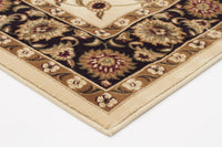 Sydney Classic Rug Ivory with Black Border - aladdinrugs - 2